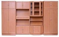 mdf léces szekrénysorok